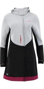 2021 Prolimit Womens Pure Racer Oxygen Wetsuit Jacket 05041 - Grey / Black / Wine