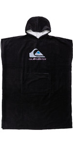 2021 Quiksilver Hooded Towel / Poncho AQYAA03233 - Black