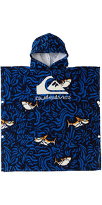 2021 Quiksilver Junior Hooded Towel AQKAA03005 - True Blue