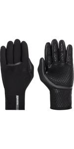 2021 Quiksilver Mens M-Sessions 1.5mm Wetsuit Gloves EQYHN03147 - Black