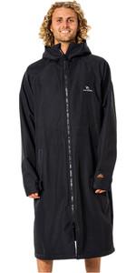 2021 Rip Curl Anti Series Hooded Poncho / Change Robe CTWBA9 - Black