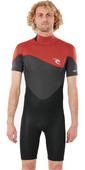 2021 Rip Curl Mens Omega 1.5MM Shorty Wetsuit WSP8CM - Maroon