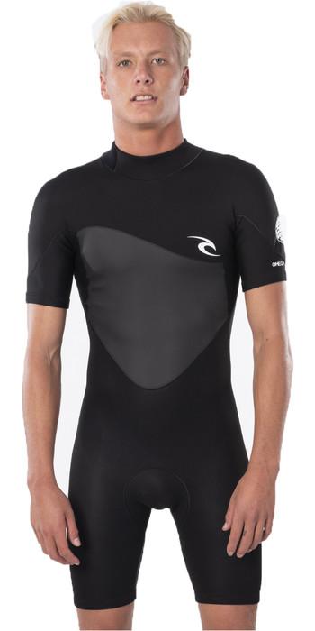 2021 Rip Curl Mens Omega 1.5mm Shorty Wetsuit WSP8CM - Black