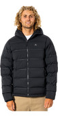 2021 Rip Curl Mens Anti Series Elite Puff Hood Jacket CJKDB9 - Black