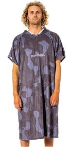 2021 Rip Curl Mix Up Print Change Robe / Hooded Towel CTWBG9 - Slate Blue