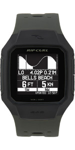 2021 Rip Curl Search GPS Series 2 Smart Surf Watch A1144 - Army