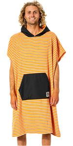 2021 Rip Curl Surf Sock Change Robe / Hooded Towel CTWBH9 - Orange