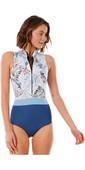 2021 Rip Curl Womens Searchers 1mm Sleeveless Wetsuit WSP9SW - Slate Blue