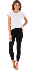 2021 Rip Curl Womens Anti Series Flex Leggings GPABV9 - Black