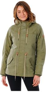 2021 Rip Curl Womens Anti Series Seeker Jacket GJKAW9 - Olive