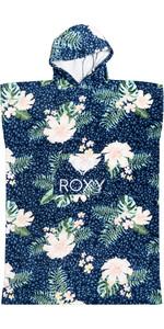 2021 Roxy Girls Stay Magical Printed Change Robe / Poncho ERGAA03121 - Mood Indigo / Animalia