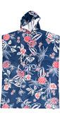 2021 Roxy Stay Magical Printed Change Robe / Poncho ERJAA03911 - Mood Indigo / Sunset Boogie