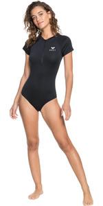 2021 Roxy Womens Essentials Cap Sleeve UV Onesie ERJWR03496 - True Black