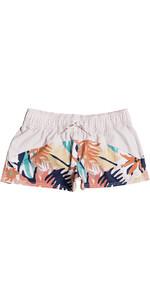 2021 Roxy Womens Catch A Wave Board Shorts ERJBS03154 - Peach Blush / Bright Skies