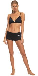 2021 Roxy Womens Syncro 1mm Reef Wetsuit Shorts ERJWH03020 - Black / Jet Black