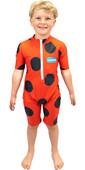 2021 Saltskin Junior Sun Suit STSKNLADYBD03 - Ladybird
