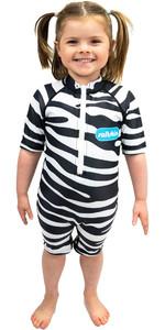 2021 Saltskin Junior Sun Suit STSKNZBR03- Zebra