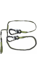 2021 Spinlock 2 Clip & 1 Link Elasticated Performance Safety Line DWSTR3LC