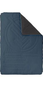 2021 Voited Recycled Fleece Outdoor Camping Pillow Blanket V18UN04BLPBC - Marsh Grey