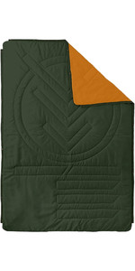 2021 Voited Recycled Ripstop Outdoor Camping Pillow Blanket V20UN01BLPBC - Desert / Tree Green