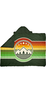 2021 Voited Recycled Ripstop Travel Blanket V20UN01BLPBT - Campvibes Treegreen