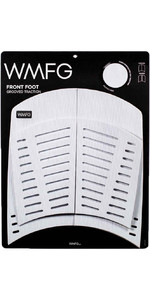 2021 WMFG Front Foot Grooved Traction 3.0 Kiteboard Deckpad WMTR3F - White