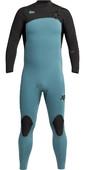 2021 Xcel Mens Comp 3/2mm Chest Zip Wetsuit MN32ZXC0T - Tinfoil / Black