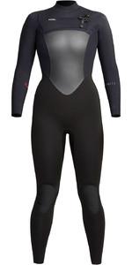 2021 Xcel Womens Infiniti 4/3mm Chest Zip Wetsuit WR433Z20 - Black