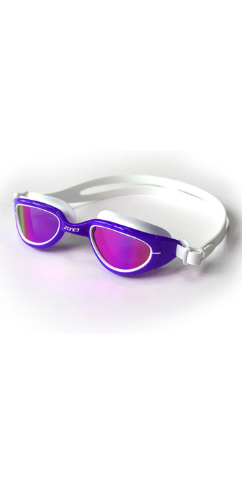 2021 Zone3 Attack Triathlon Goggles SA19GOGAT - Purple / White