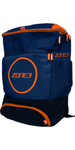 2021 Zone3 Transition 40L Back Pack RA18TRAN - Navy / Orange