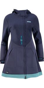 2021 Prolimit Womens Pure Racer Flare Wetsuit Jacket 05041 - Navy / Turquoise