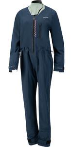 2021 Prolimit Womens Pure Girl Nordic SUP Front Zip Drysuit 10090 - Indigo / Sage / Black