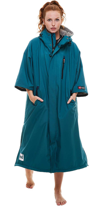 2022 Red Paddle Co Pro 2.0 Short Sleeve Change Robe 0020090060122 - Teal