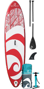 2021 Spinera SupVenture 10'6 Inflatable Stand Up Paddle Board, Bag, Pump & Paddle - Red