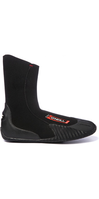 2020 O'Neill Epic 3mm Round Toe Boots 5429 - Black