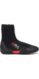 2019 Gul Junior Power 5mm Round Toe Zipped Boots BO1307-B2 - Black / Red