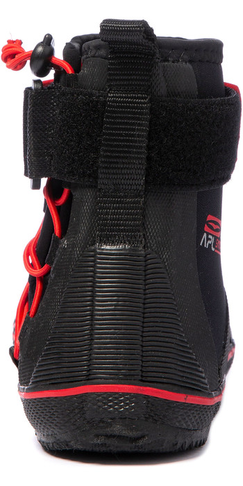 2021 Gul All Purpose 5mm Lace Up Boots BO1304-B2 - Black / Red