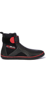 2020 Gul All Purpose 5mm Lace Up Boots BO1304-B2 - Black / Red