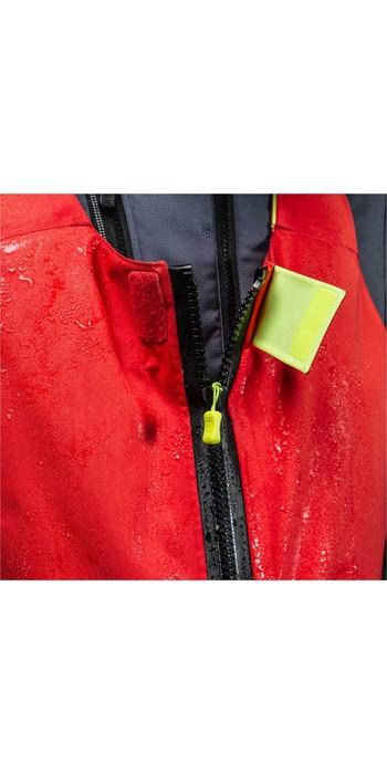 Zhik Mens Isotak X Ocean Salopettes - Red