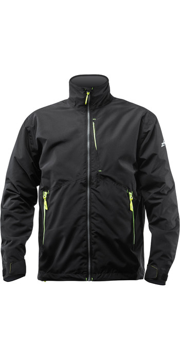 Zhik Mens Z-Cru Lightweight Sailing Jacket JKT0080 - Black