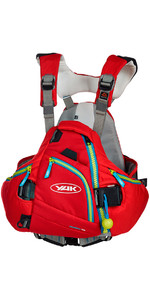 Yak Hallertau Kayak 70N Whitewater Buoyancy Aid - Red 2705
