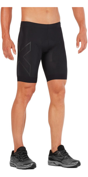2018 2XU Compression Tri Shorts BLACK / BLACK MT4842b