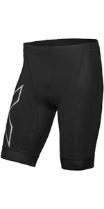 2019 2XU Mens Compression Tri Shorts Black MT5520b