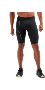 2019 2XU Mens MCS Run Shorts Black / Reflective MA5331b