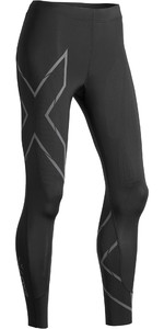 2019 2XU Womens MCS Run Compression Tights Black / Reflective WA5332b
