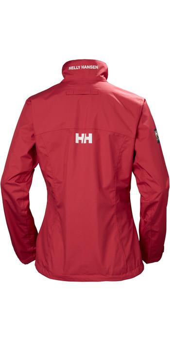 2019 Helly Hansen Womens Crew Jacket Cardinal 30297