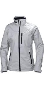 2021 Helly Hansen Womens Crew Jacket Grey Fog 30297