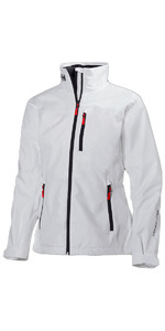 2019 Helly Hansen Womens Crew Jacket White 30297