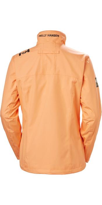 2020 Helly Hansen Womens Mid Layer Crew Jacket 30317 - Melon