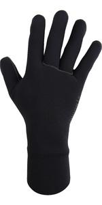 2021 Typhoon Ventnor 2mm Wetsuit Gloves 310231 - Black